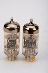 Valvo E81CC Gold Pins