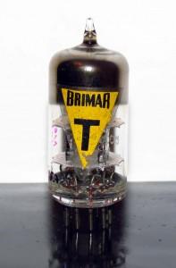 Brimar 12at7 Black Box Plates