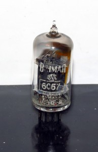 Brimar 6057/12ax7 Black Plates []-getter