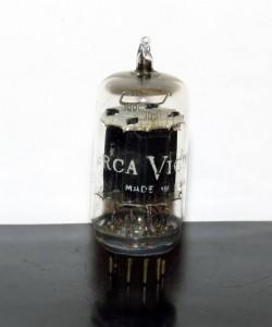 RCA Victor 12au7/ECC82 Black Plates D-getter 1949